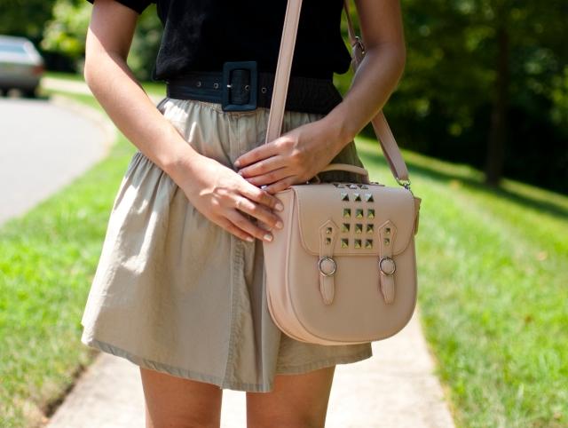 Steve Madden handbag, personal style blogger, neutrals
