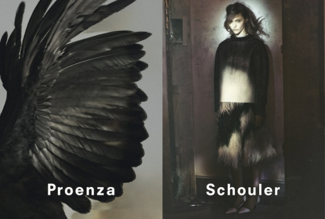 Proenza Shouler fall 2013 campaign
